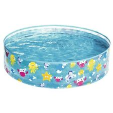 """Sea Life Pop Up Paddling Pool Childrens Toddler Garden Outdoor 48"""" x 10"""" 55028"""