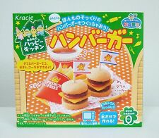 Kracie Happy Kitchen Hamburger Japanese Candy Kit Popin Cookin New Good for Gift