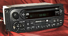 2002-2006 Jeep Chrysler Dodge RDS Radio AM FM CD CS iPod Aux In P05064042AB RAZ