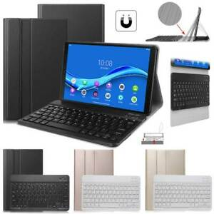 For Lenovo Tab M10 FHD Plus X606F Detachable Wireless Keyboard Tablet Case Cover