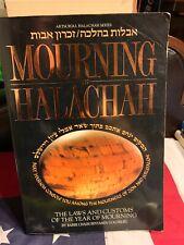 Mourning In Halachah Artscroll Jewish Law Customs Halacha Torah Judaism Judaica