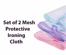 2X Ironing Mesh Protective NET-CLOTH Protect Iron Delicate Garments Clothes