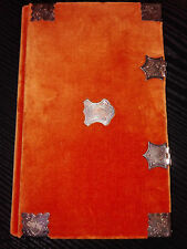 "Medieval 1510 Codex Facsimile ""PARISIAN BOOK OF HOURS"" 184 pages Velvet Buckle"