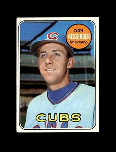 1969 Topps Baseball #225 Don Kessinger (Cubs) EXMT