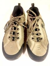 SKECHERS SHAPE-UPS 52000 Pebble Suede Lace Up Walking Shoes Men's Size 13
