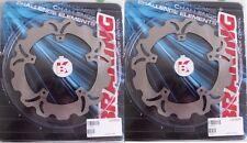 BRAKING 2 DISCHI WAVE ANT GL01RID PER PIAGGIO X9 200 2002 2003