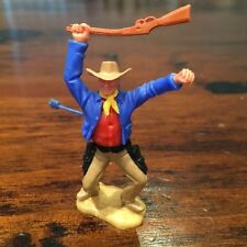 Timpo Cowboy - Wounded - Royal Blue Jacket/ Red Shirt - 1970's - Wild West