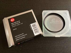 Leica Filter E 49 UV/IR, 13412, für Leica M8 und M8.2, schwarz, OVP
