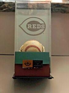 Ken Griffey Jr Autographed Signed Baseball UDA COA #BAF96493 with Caseworks Case