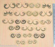 50 SOLID BRASS WHOLESALE 50 PAIR LOT PLAIN DESIGNER LONG EARRING JEWELRY