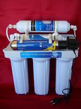 Depuratore acqua 6 STADI ultrafiltrazione lampada UV + Kit 4 filtri + membrana