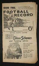 1960 Grand Final record Melbourne vs Collingwood