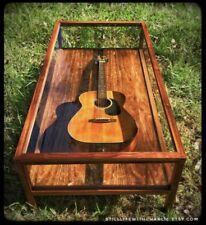 Handmade Walnut Modern-Style Shadow Box Coffee Table