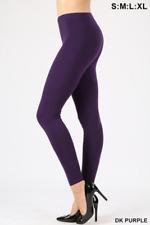 Womens Long Leggings Cotton High Waist Regular & Plus Workout Gym Sport Yoga