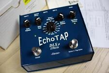 DLS EchoTAP Echo Tap Tempo Delay Electric Guitar Effects Pedal - With Box