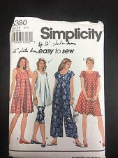 Simplicity #8380 Maternity Jumpsuit, Dress or Tunic in Misses' Sizes -Sizes 6-10
