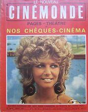 CINEMA CLAUDIA CARDINALE DELPHINE SEYRIG MICHELE MERCIER  N°1850 CINEMONDE 1970
