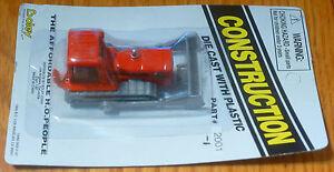 Boley HO #185-20011 Construction Equipment - Bulldozer Red