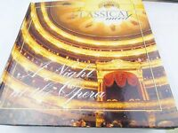 IN CLASSICAL MOOD A NIGHT AT THE OPERA CD &  BOOK VGC STRAUSS PUCCINI