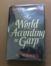 THE WORLD ACCORDING TO GARP - John Irving - 1st/later HCDJ  1978 -  VG