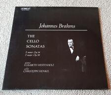 Johannes Brahms-Elisabeth Westenholz,C. Henkel–The Cello Sonatas - Vinyl