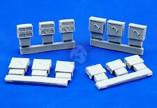 Djiti's 1/35 25mm Ammo Boxes M-242 (LAV, ASLAV, Bradley, etc) (12 pieces) 35011