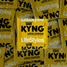 LifeStyles Kyng condoms Lubricated Larger Wider XL Magnum King size 56mm