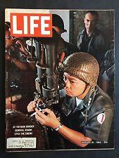 Life Magazine August 21 1964  Vietnam Border General Khanh
