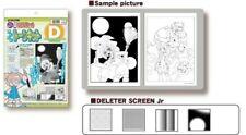 Deleter Screen Tone Jr. Set D Professional Art Supplies Manga NEW