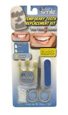 DARK WHITE INSTANT SMILE TEETH REPLACEMENT KIT fast & easy Missing tooth 1190