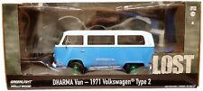 1:24 Scale Greenlight 84033 1971 Volkswagen T2 Minibus - DHARMA Van - LOST