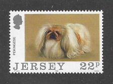 Dog Art Body Portrait Postage Stamp Peke Pekingese Jersey Uk Mnh