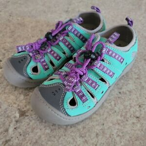 Clarks Jetta Girl's Water Outdoor Walking Shoes 11.5