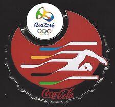 COCA-COLA RIO OLYMPICS 2016 PIN SWIMMING