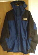 Vintage 90 s The North Face MENS Gore Tex Mountain Guide Jacket Coat Large L Blue