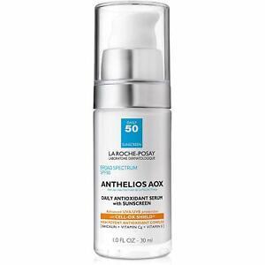 La Roche-Posay Anthelios AOX Daily Antoxidant Serum Sunscreen SPF 50 1 oz 07/22