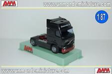 Tracteur VOLVO 380 Globetrotteur XL Black AWM - AW 5809.01 - Echelle 1/87