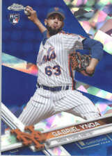 GABRIEL YNOA 2017 TOPPS CHROME SAPPHIRE EDITION #79 ONLY 250 MADE