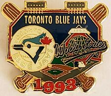 TORONTO BLUE JAYS 1993 WORLD SERIES MLB Baseball Lapel Pin Tac Vintage Phillies