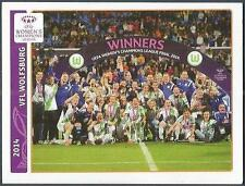 PANINI UEFA CHAMPIONS LEAGUE 2014-15- #633-2014 WOMEN-WOLFSBURG TEAM PHOTO