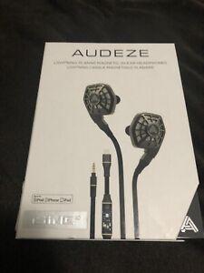 Audeze iSine 10 (Lightning Cable Version)- Free US Shipping