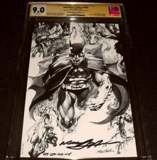 DC DETECTIVE COMICS #1000 CGC 9.0 S/S Metal COVER ADAMS SIGNED #47/100 🔥