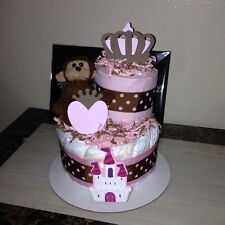 Two Tier Diaper Cake--Made To Order
