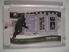 Gretzky 2013-14 ITG Stickwork 500 GOAL SCORERS GAME USED STICK SILVER 4 MADE