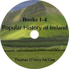 Popular History of Ireland, Books 1-4 Thomas D'Arcy McGee Audiobooks 9 Audio CDs