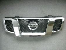 Nissan 62310-ZL00B OEM 2009-2014 Frontier Grille w/ Emblem Black & Chrome