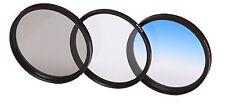 Filterset  POL Filter + UV Filter + Verlaufsfilter  blau   49mm