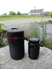 ASAHI Opt Co. Pentax Camera Lens 135mm 1:3.5/135 SMC w/ Black Case Japan