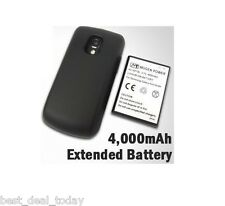 Mugen Power 4000MAH Extended Life Battery &Door For Samsung Exhilarate I577 AT&T