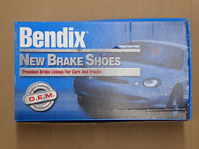 BRAND NEW BENDIX REAR BRAKE SHOES 360 FITS VEHICLES LISTED ON CHART